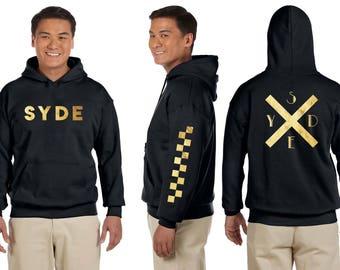 Hoodie with Trending/Modern Design. SYDE Collection Piece