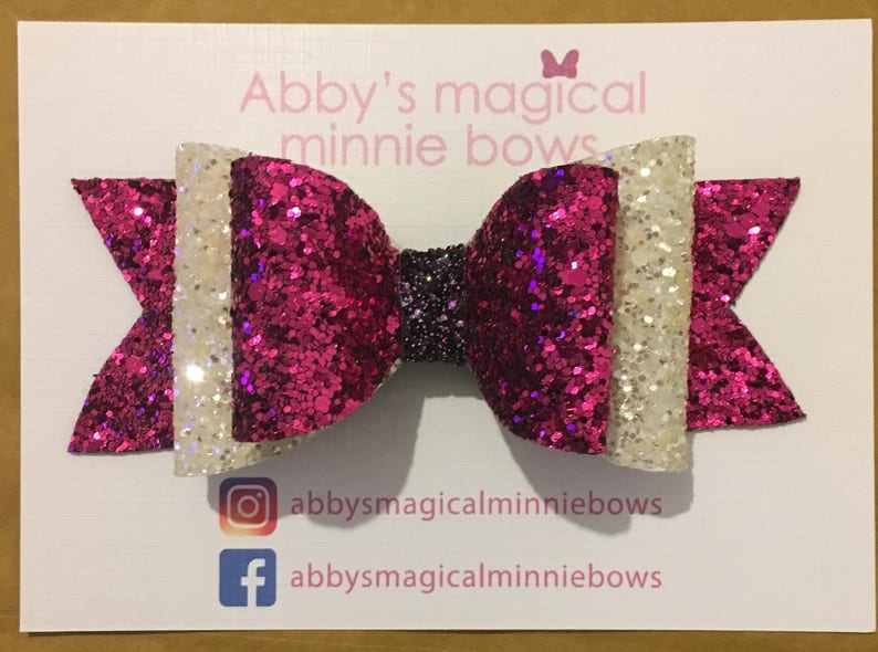 Lotso inspired hair bow  Disney inspired hair bow  Toy story image 0