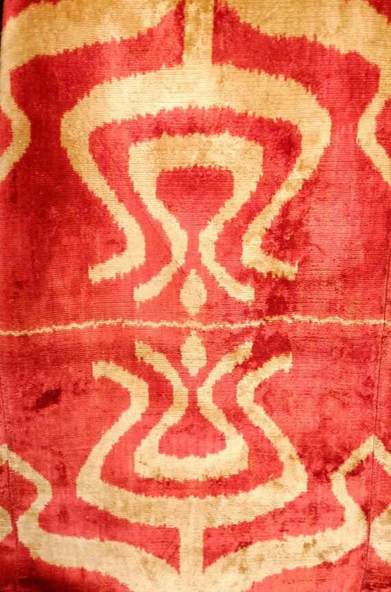 Velvet Kaftan Robe in Ottoman Style