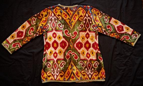 Ikat Velvet Jacket