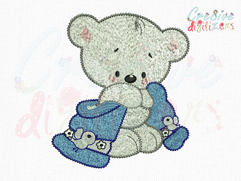 Me To You Tiny Tatty Teddy Rose Bébé Ours