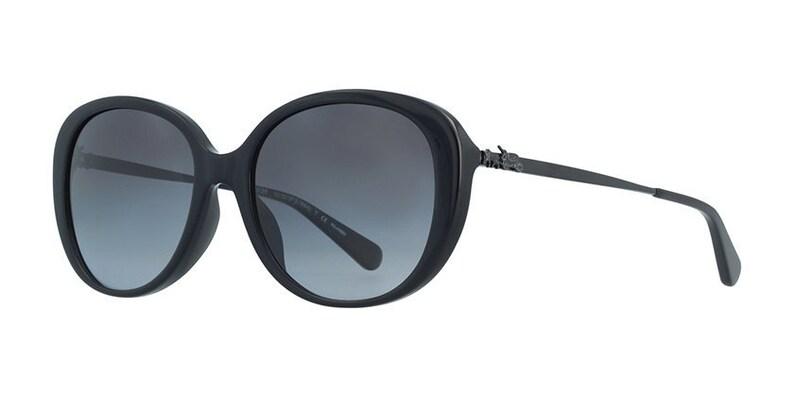 Coach HC8215F-5482T357 full rim  plastic black sunglasses for image 0