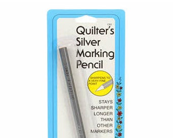 Quilter's Silver Marking Pencil