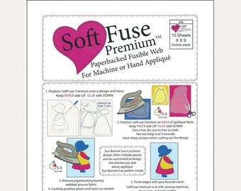 SoftFuse Paper-Backed Fusible Web