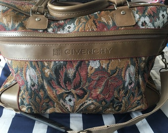 80s Vintage Givenchy Duffle Bag cd920a0028