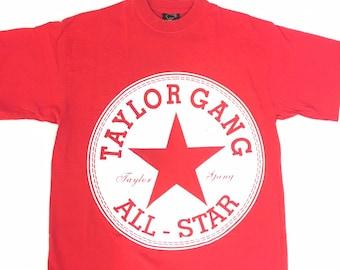 30e387a84f4ac Rare Vintage Taylor Gang Wiz Khalifa T Shirt