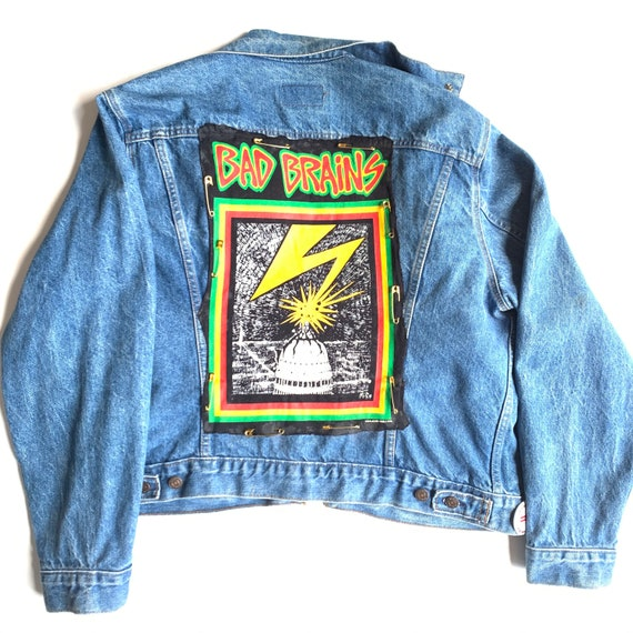 Very Rare Vintage Levis  Bad Brains Custom Jacket