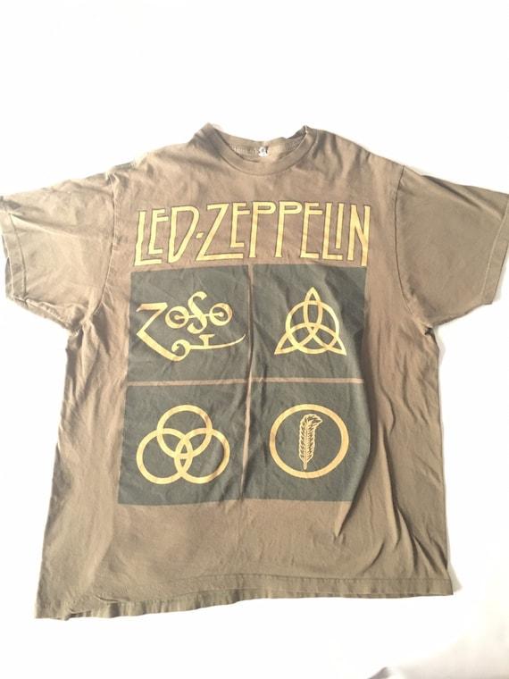 Very Rare Led Zeppelin T Shirt
