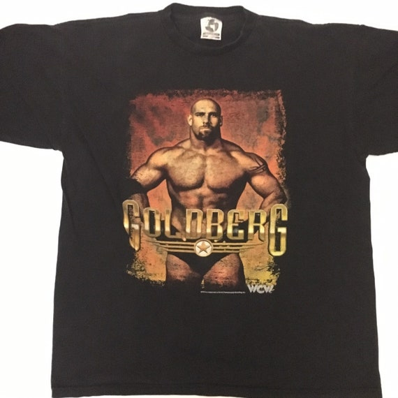 Very Rare  90s WCW Goldberg vintage T Shirt (XL)