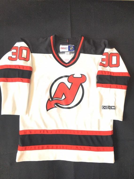 pretty nice 24992 616d5 Rare !!!!! Vintage Authentic New Jersey Devils Brodeur Youth Jersey