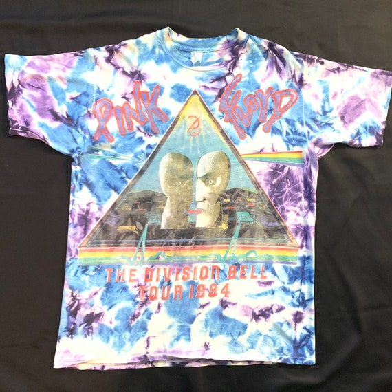 Very Rare Vintage 1994 Pink Floyd All Over Print