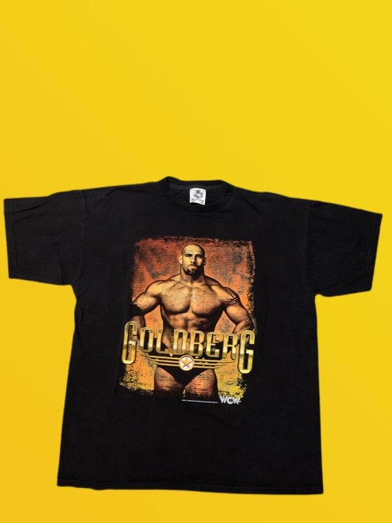 Very Rare  90s WCW Goldberg vintage T Shirt (XL)
