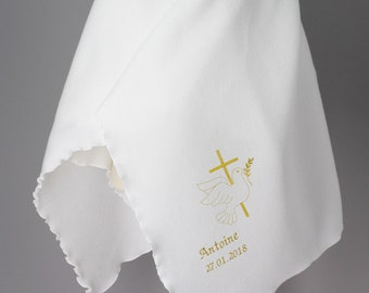 Polar White Baptism Cover - Reason of choice and customizable