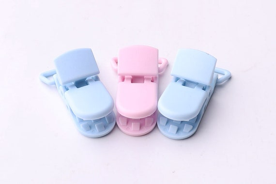 High Quality KAM Plastic Suspender Paci Pacifier Dummy Clips Ribbon Craft