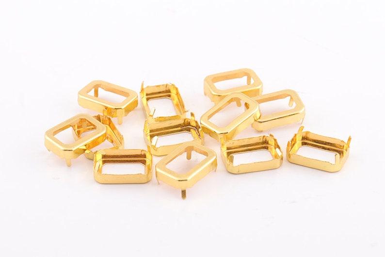 20pcs Gold purse feet studs Bag feet Handbag feet Nailheads  ba5a197ad4530