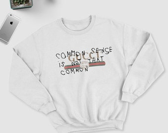 805f142a422 Gucci inspired Youth   Unisex adults sweatshirt Common Sense