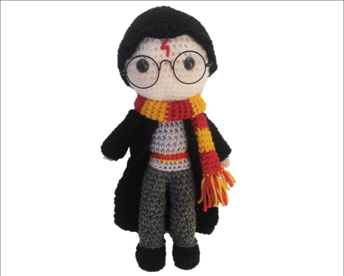 Harry Potter Amigurumi Crochet Pattern | Etsy