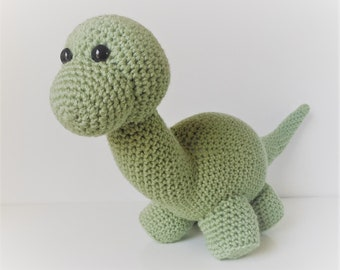 Brontosaurus Crochet Pattern