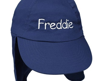 d3ce5c96f7f7a Personalised Junior Convertible Baseball Cap and Legionnaires Sun Hat