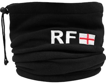 Personalised Name /& Football Club Fleece Snood with Adjustable Toggle