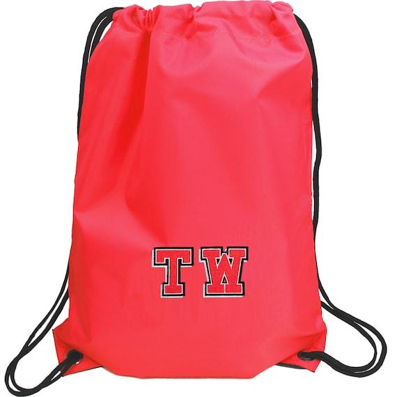 Personnalisé, cordon de serrage gymnase Varsity Sports PE & sac de piscine / / retour à l'école / / cadeaux pour enfants