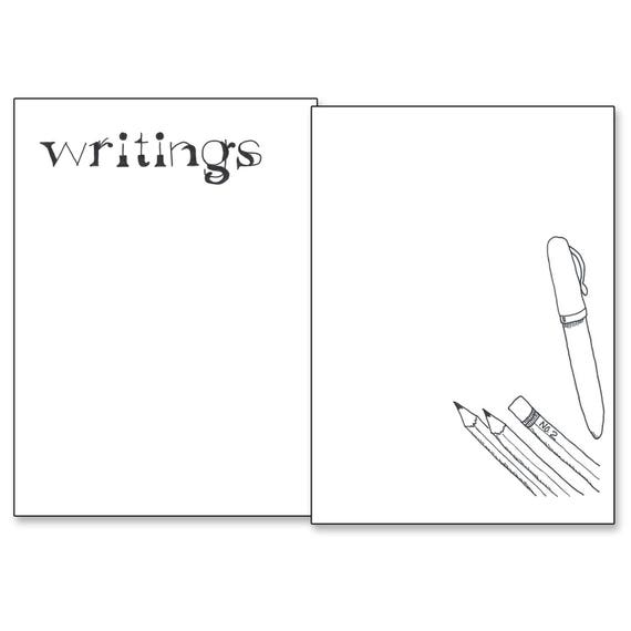 image about Bullet Journal Printable Pages called Writings - Bullet Magazine Printable Web pages