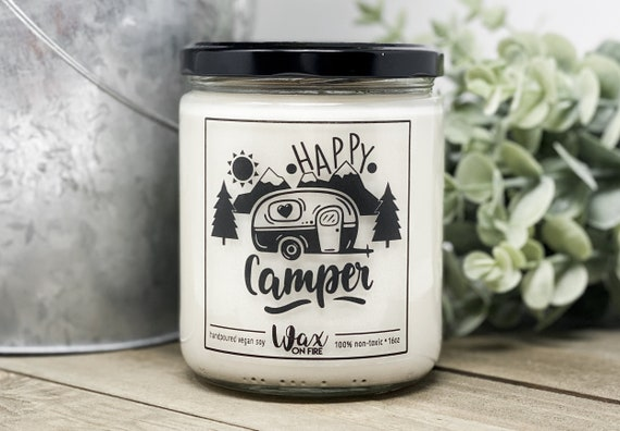 Happy Camper Camping Gift Camper Decor Camping Gifts Gift for