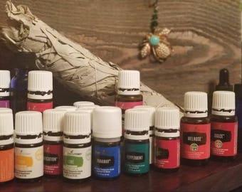 100% Pure, Therapeutic-grade Essential Oils in 1ml & 2ml sizes.