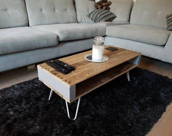 Coffe Table: Upcycled pallet wood