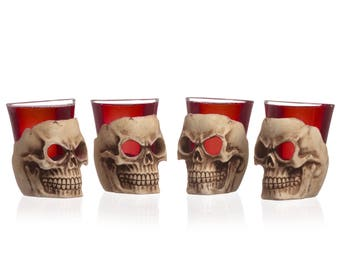 Shot Glasses 'Deadshots' Set of 4
