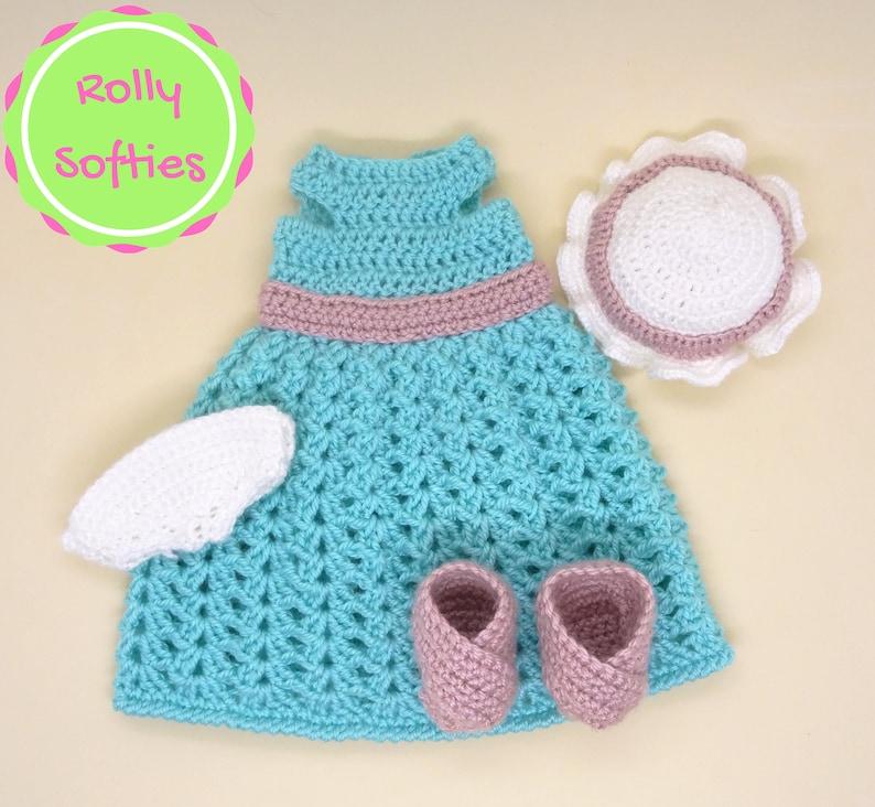 Schema Vestiti Per Bambola Amigurumi A Uncinetto Outfit Etsy