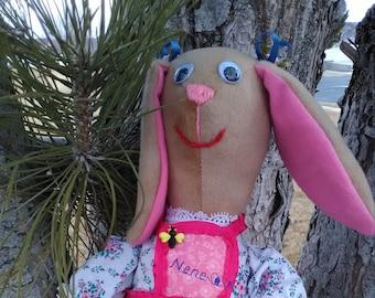Nene, handmade bunnie