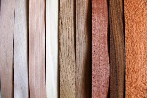 Wood Veneer Sheets Veneer Mix Veneer Pack 9 Sheets Wood Veneer 0 6mm 1 42