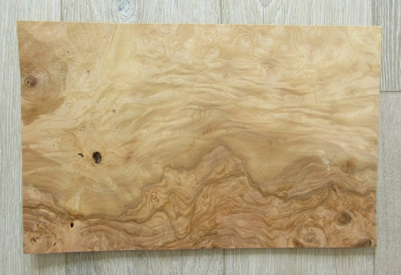 Olive Ash Burl Wood Veneer 2 Sheets 16 7 X 10 6 42 5 X 27cm 0 55mm 1 45