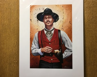 impressionist gambling artists cowboy