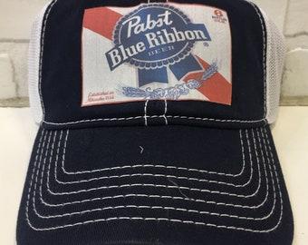 Pabst blue ribbon hat  f70e00aa6ab