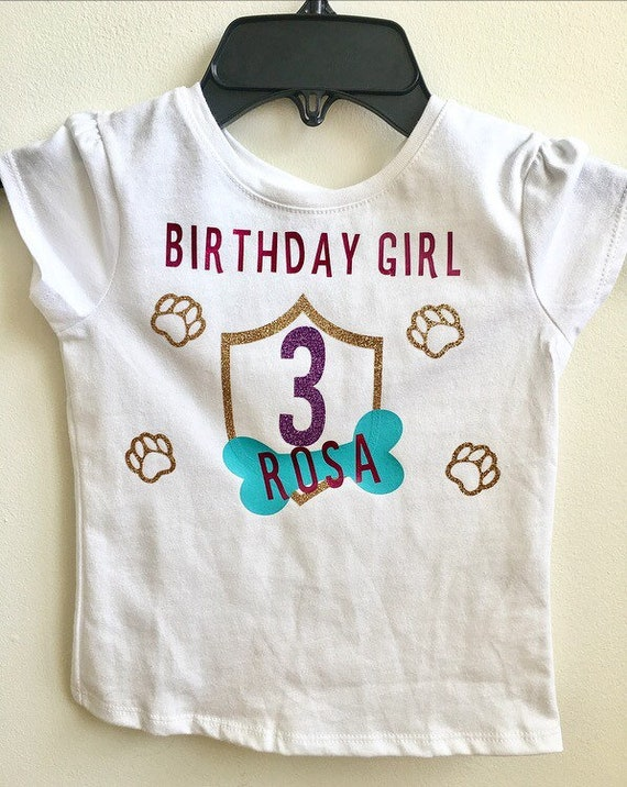 Personalized Toddler Birthday T Shirt Custom Themed