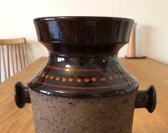 Eke Bjeren for Gabriel Keramik Sweden Pottery Vase