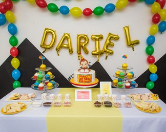 DIY Curious George Inspired Birthday - Let's Go Bananas!