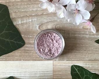 Pastel pink eyeshadow, Organic makeup, Zero waste makeup, Vegan makeup, Natural makeup, Natural cosmetics, Bridal shower favors