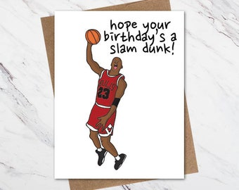 92623b4548c0b3 Michael Jordan Birthday Card