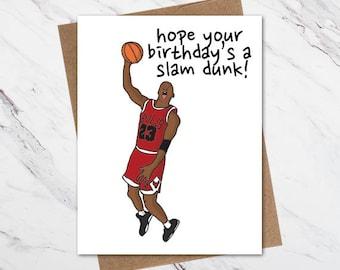 57e4d2a61dba Michael Jordan Birthday Card