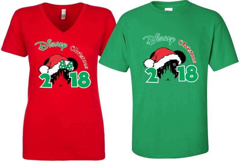 Christmas Family Vacation Packages 2019 2019 Disney Christmas Family vacation Minnie Mickey matching | Etsy