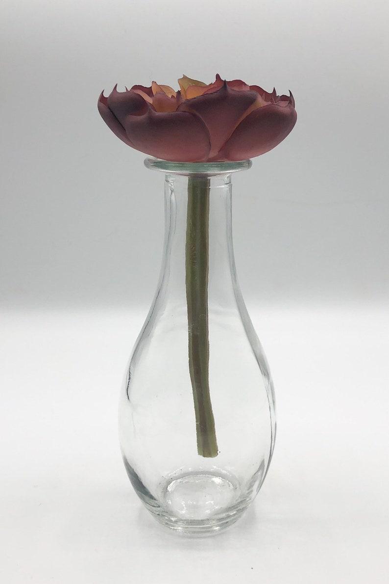 Artificial Rust Echeveria Succulent