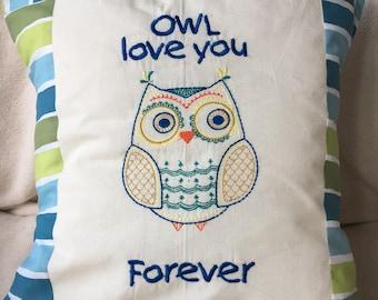 Owl love cushions