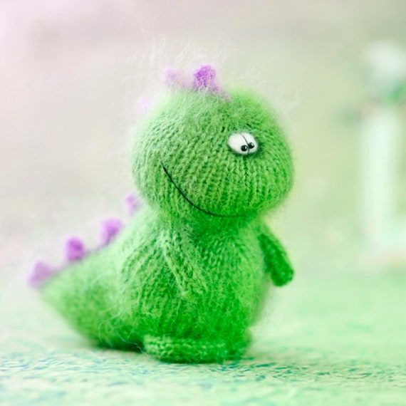 Dragon Pattern Knit Toys Monster Amigurumi Tutorial Knitted Etsy