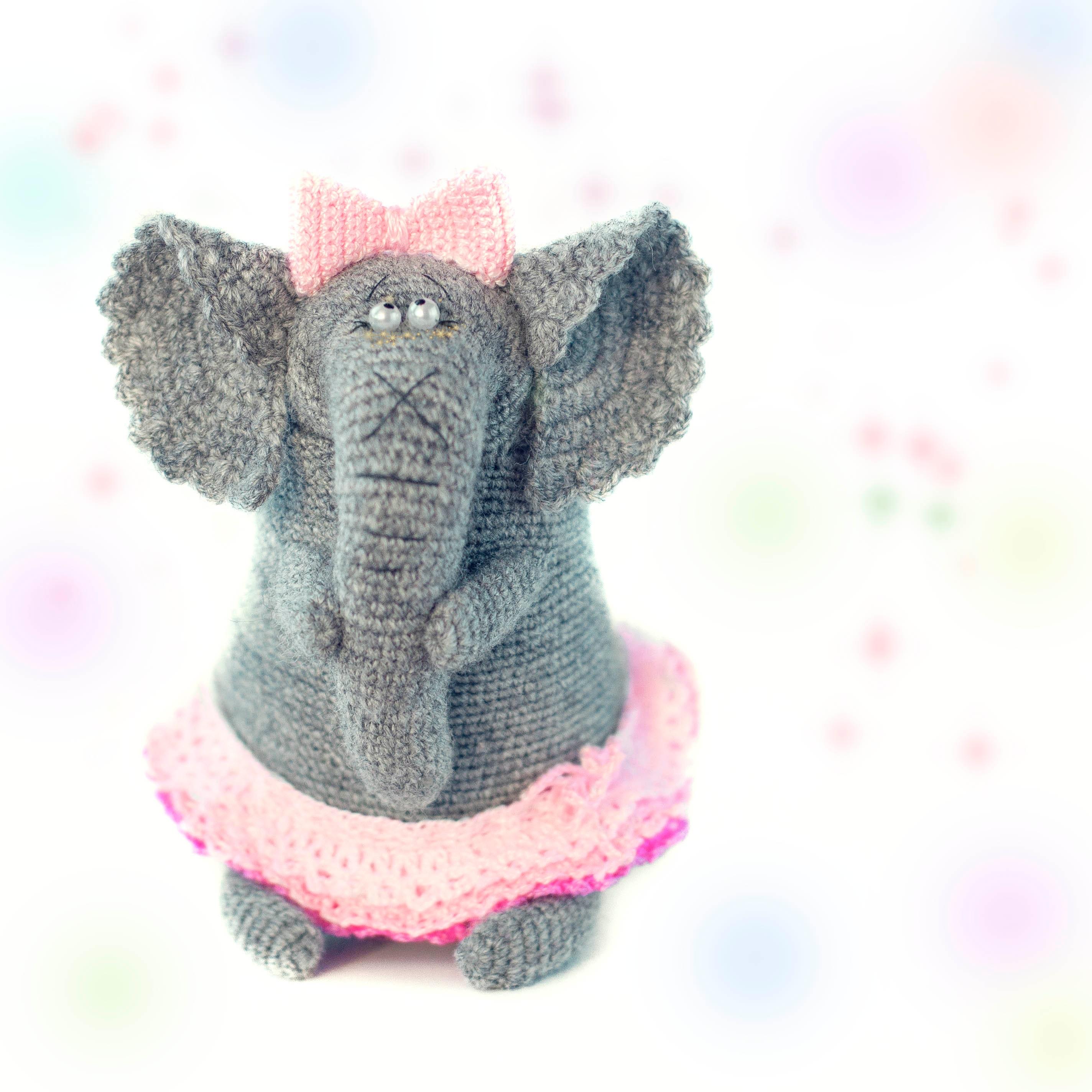 Amigurumi Crochet Elephant Pattern   Supergurumi   2848x2848