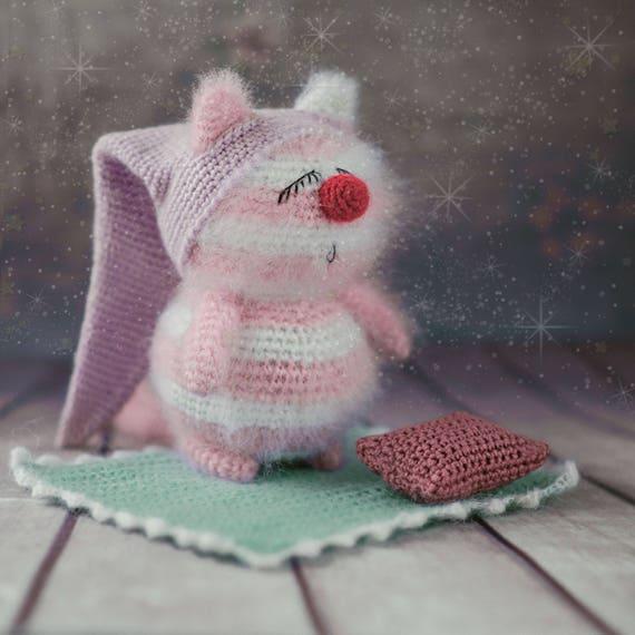 Crochet Cat Pattern Amigurumi Pattern Crochet Cat Toy Pattern