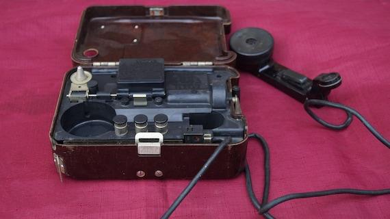 Red army military field telephone bakelite corps Radio station telephone  TA-57, USSR Military