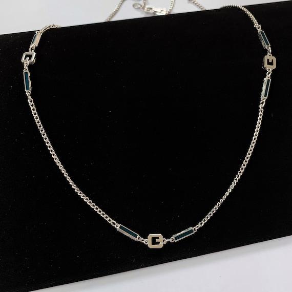 GIVENCHY Vintage G logo long Necklace